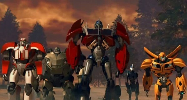 Transform And Roll Out Transformers Prime Season 1 Blu