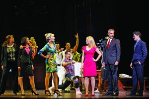 The cast of LEGALLY BLONDE (c) Jeff Busby