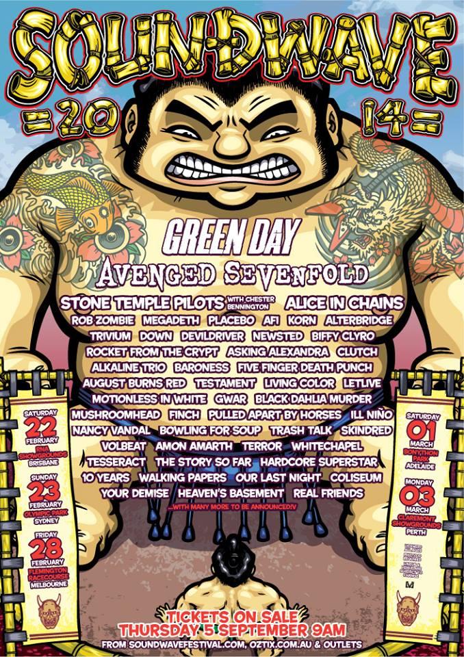 soundwave2014 poster