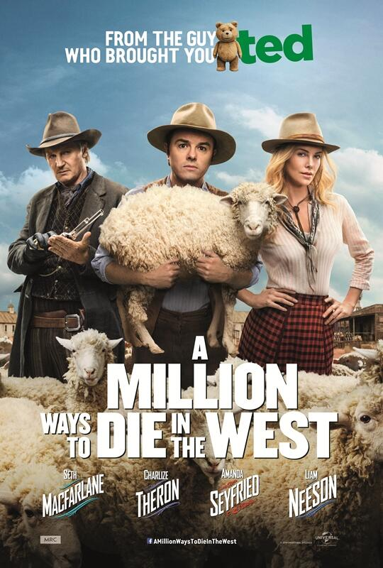 A Million Ways To Die In The West poster2