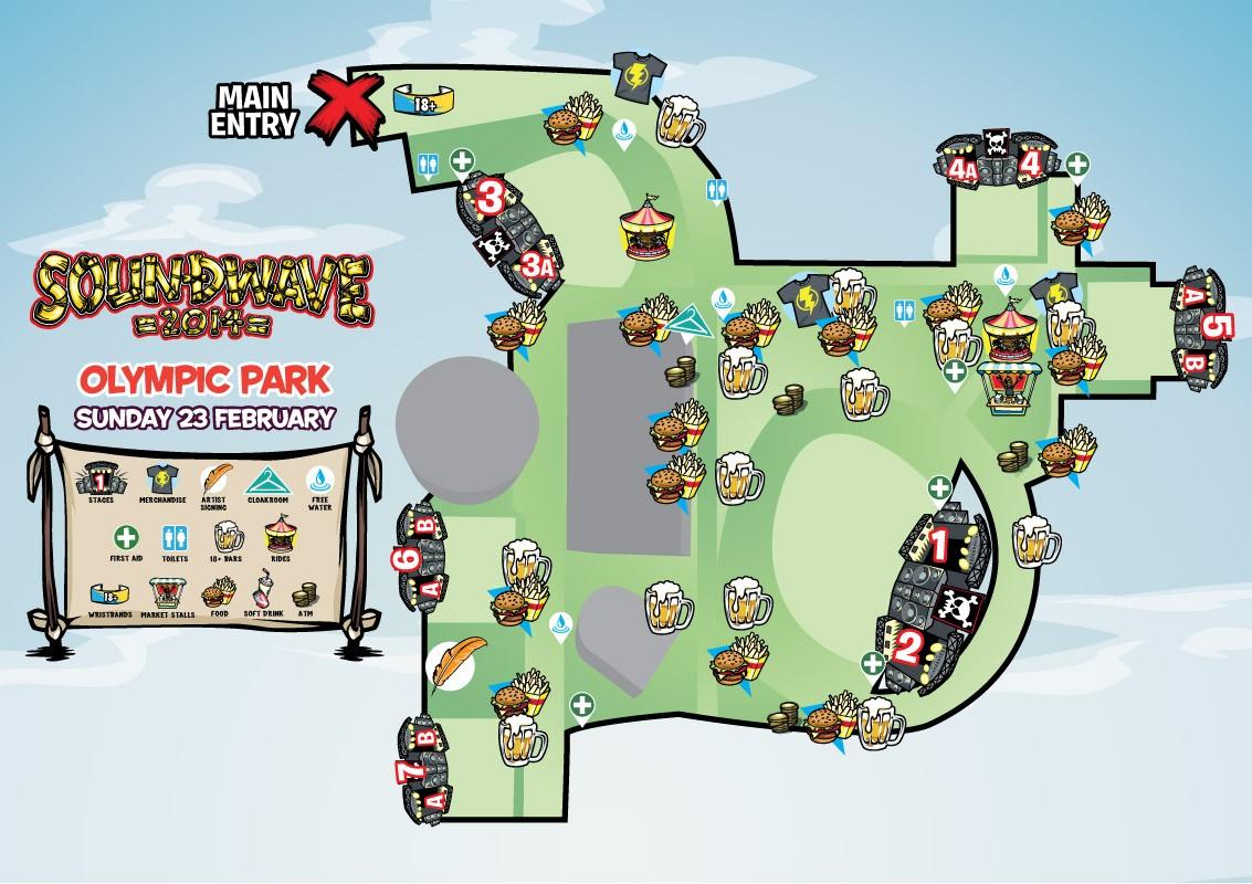 sw14 sydney map
