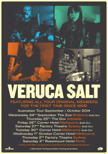 veruca salt poster oz tour